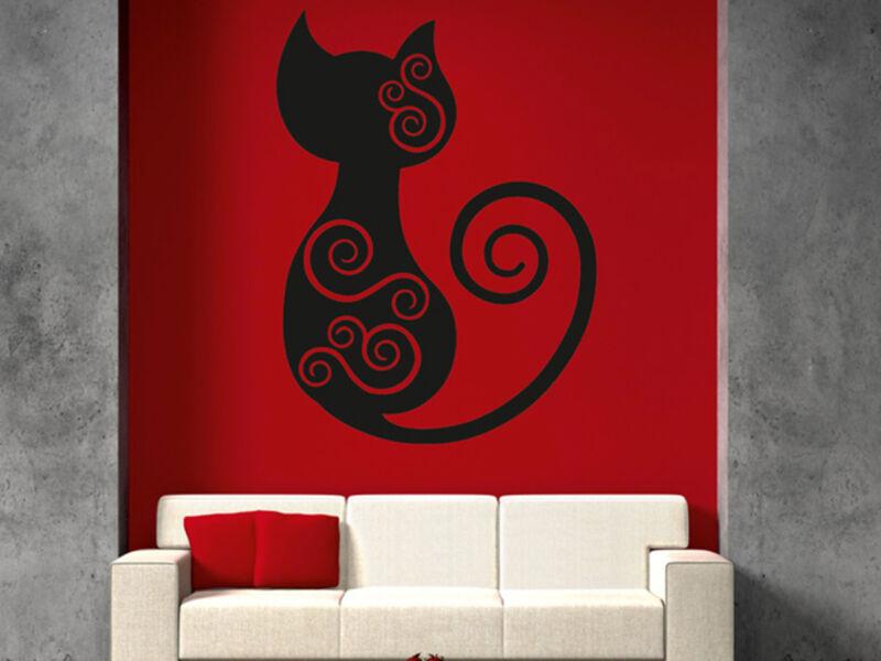 Különleges macska falmatrica