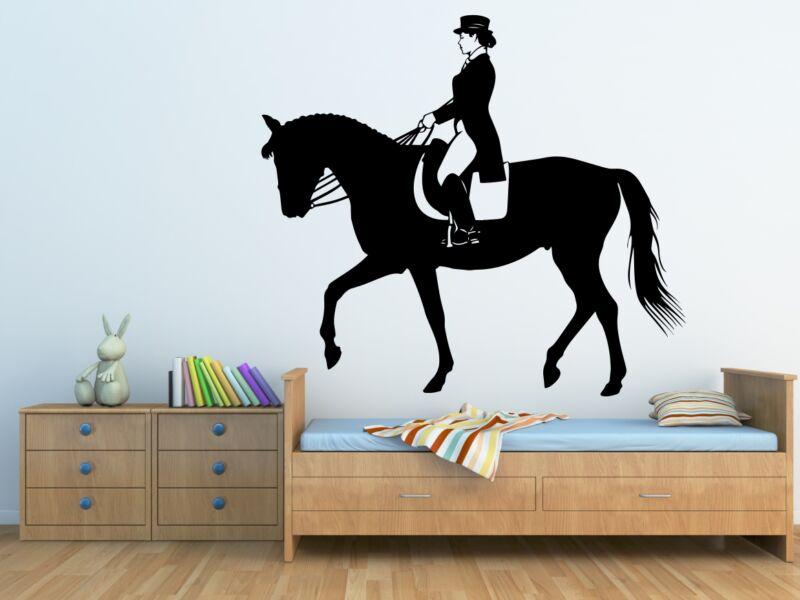 Női Zsoké lovas falmatrica 03