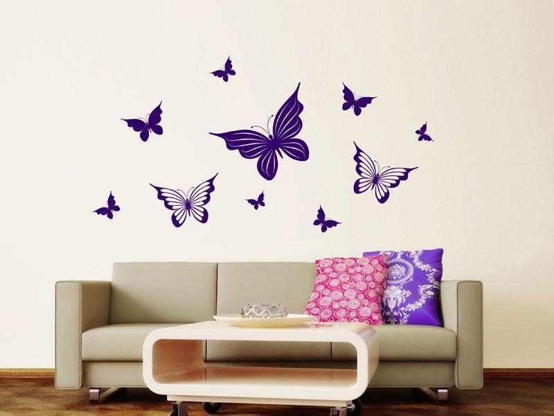 Pillangó falmatrica szett