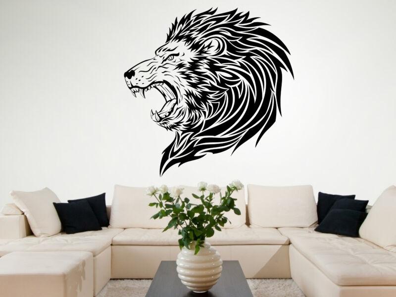 Ordító oroszlán falmatrica