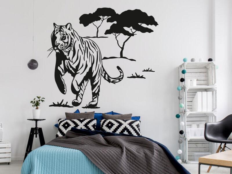 Tigris a vadonban falmatrica