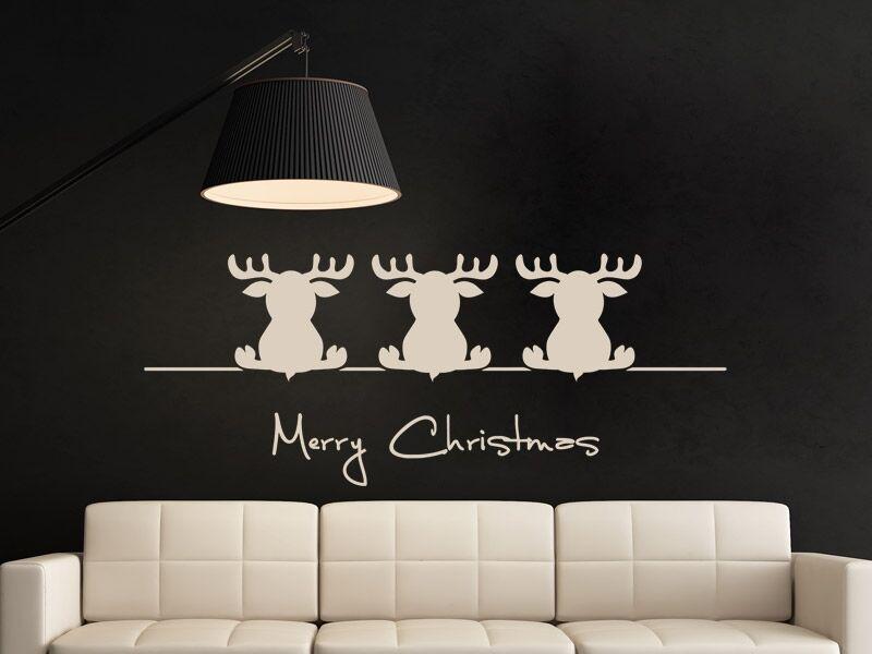 Aranyos karácsonyi szarvasok