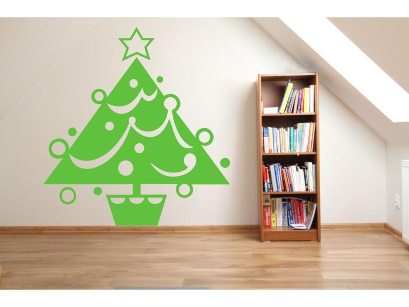 Karácsonyfa falmatrica 01