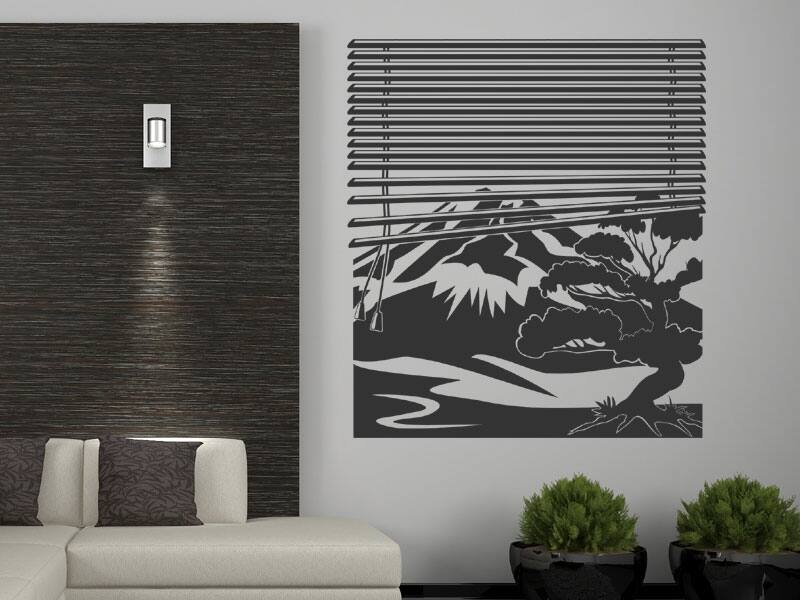Fujiyama ablak falmatrica