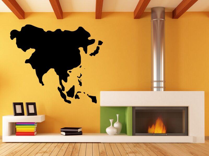 Ázsia Térkép falmatrica
