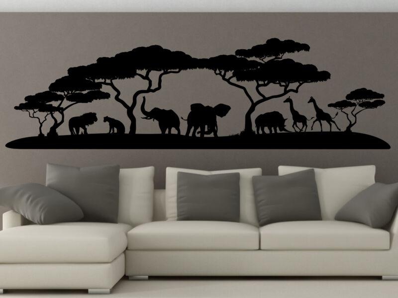 Afrikai tájkép falmatrica 02