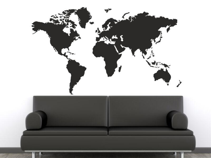 Föld térkép falmatrica