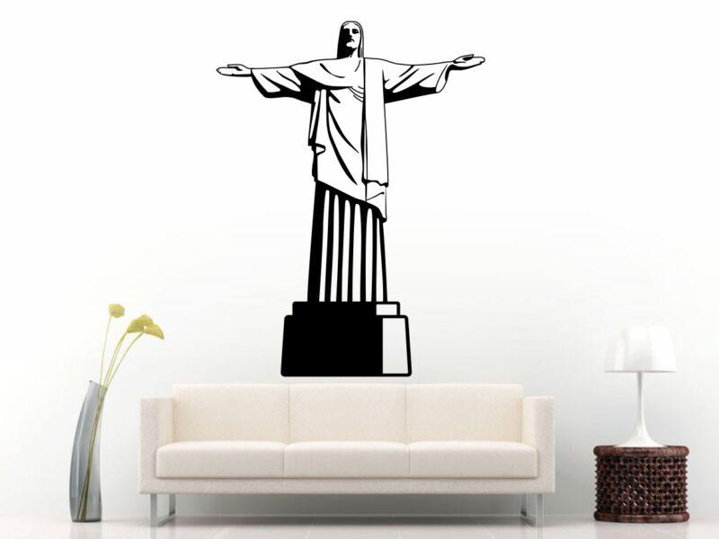 A Megváltó Krisztus szobra falmatrica