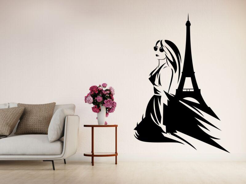 Párizsi nő Falmatrica