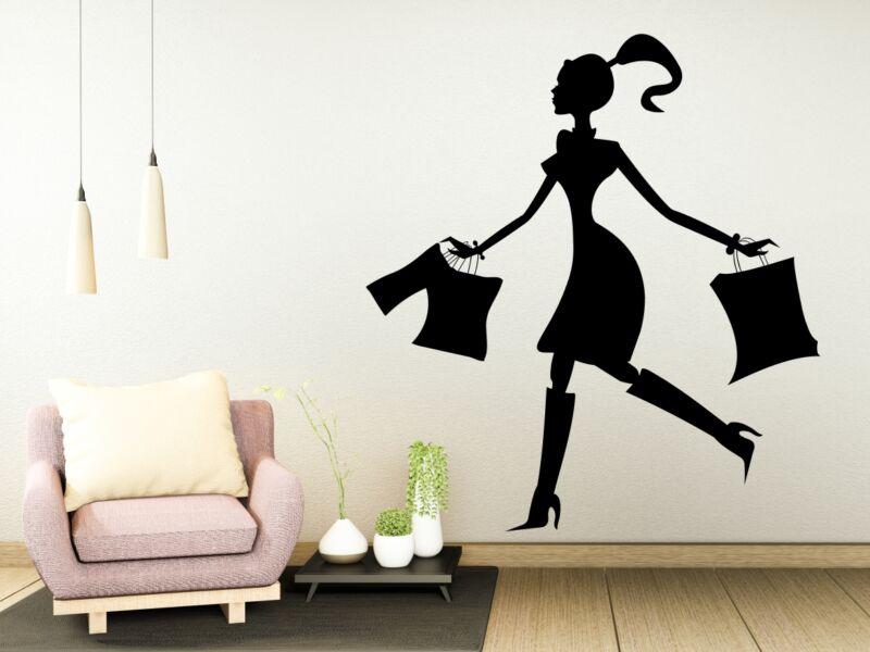 Shoppingoló nő Falmatrica