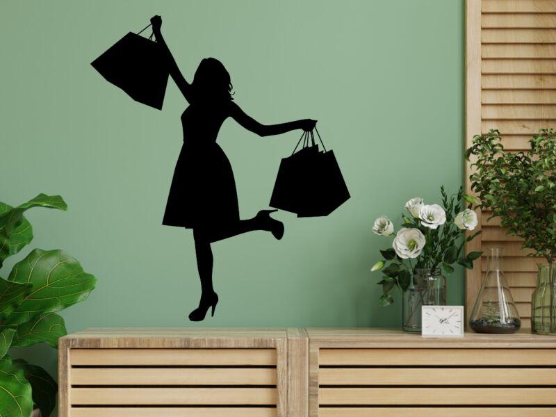 Shoppingoló nő Falmatrica 02