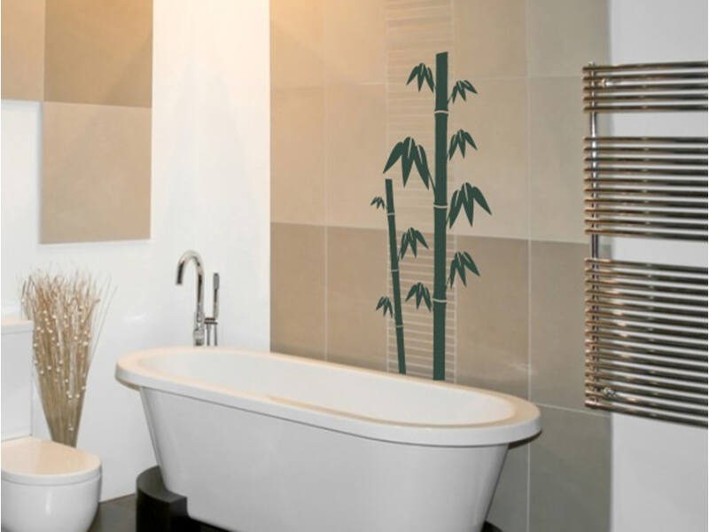 Fürdőszoba falmatrica 17
