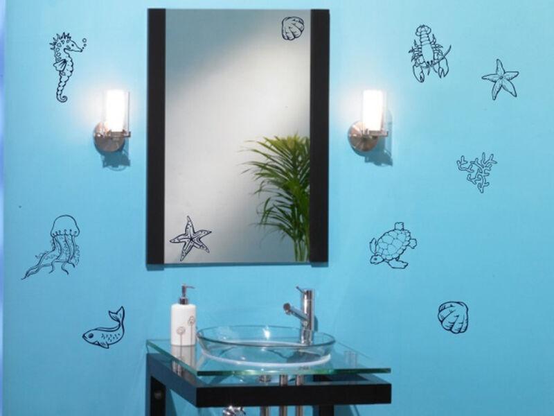 Fürdőszobai falmatrica 05