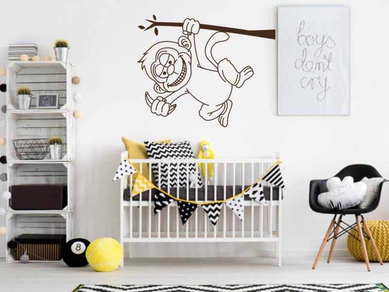 Aranyos majom falmatrica