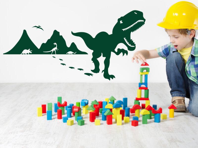Dinoszauruszok falmatrica 02