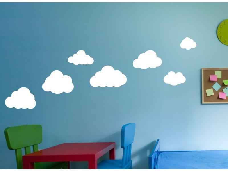 Felhő 03 falmatrica