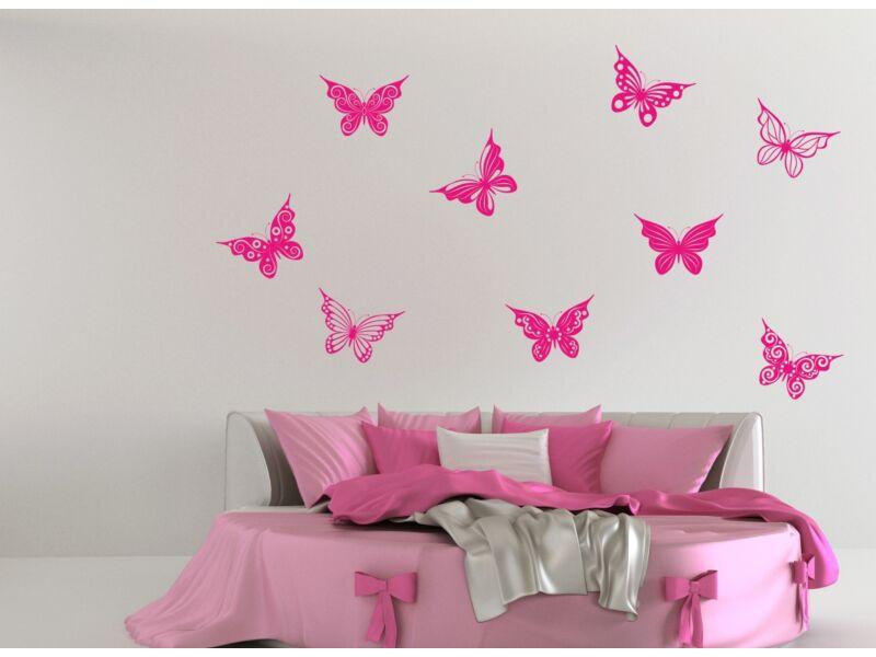 Pillangó falmatrica szett 05
