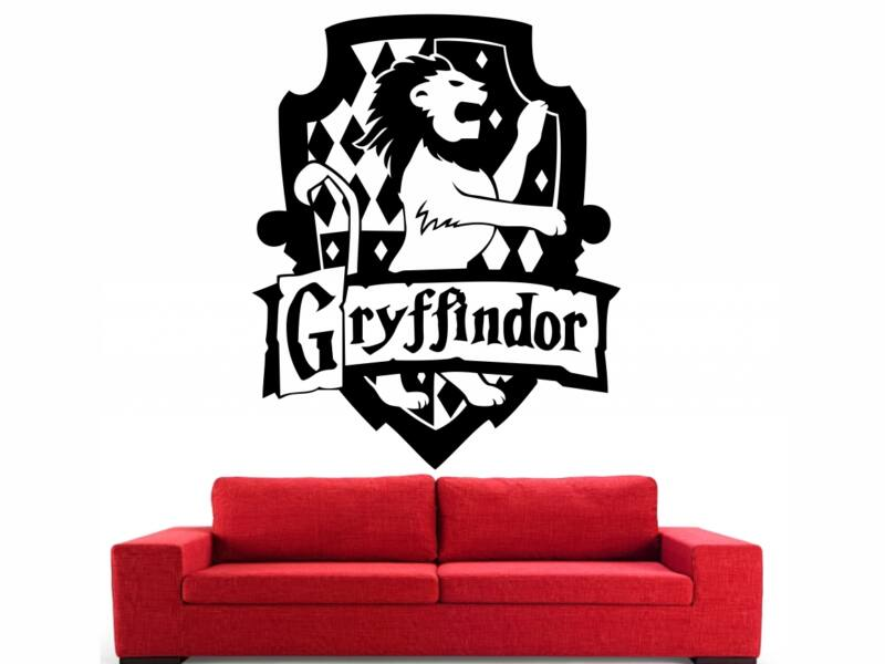 Harry Potter Griffendél címer falmatrica