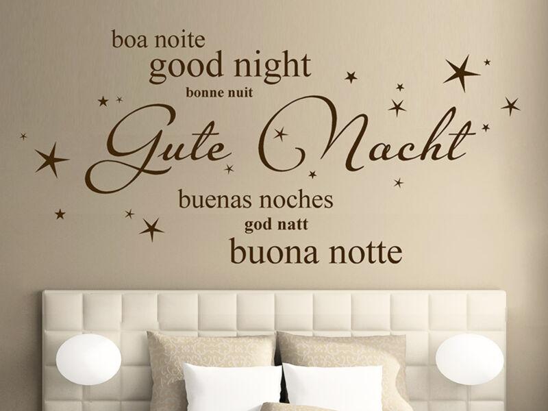 Gute Nacht idézetek falmatrica