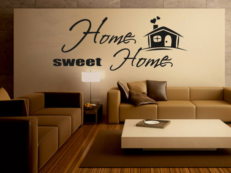 Home Sweet Home idézetek falmatrica