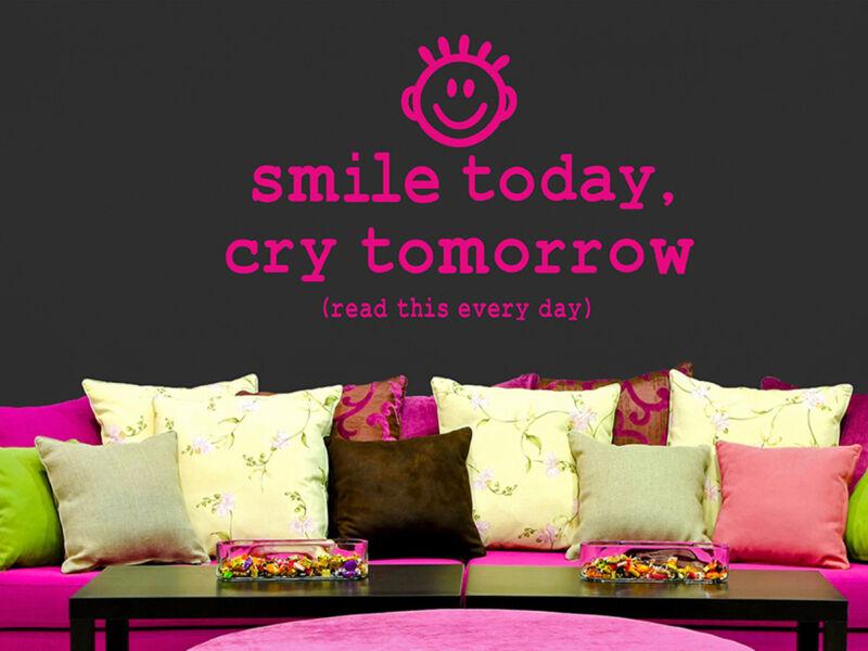 Smiley idézetek falmatrica