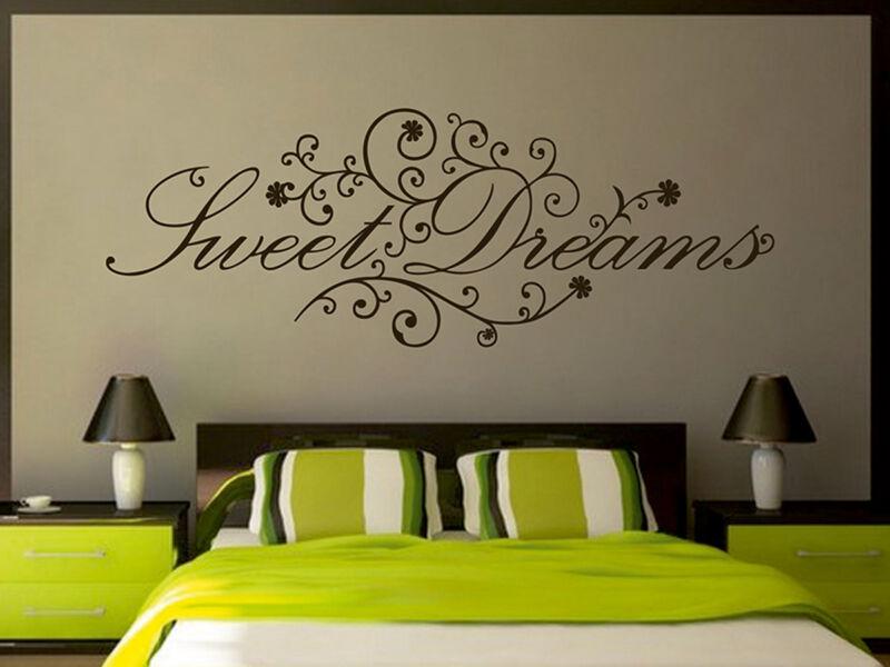 Sweet Dreams virágos idézetek falmatrica