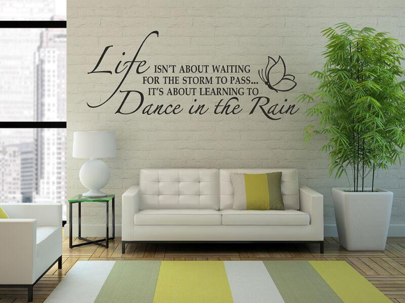 Táncolni az esőben....idézetek falmatrica