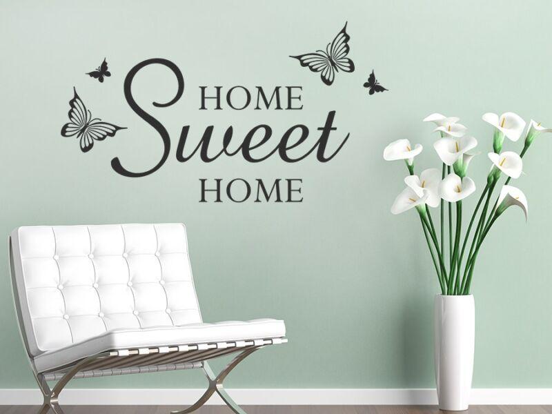 Home Sweet Home idézetek falmatrica 02