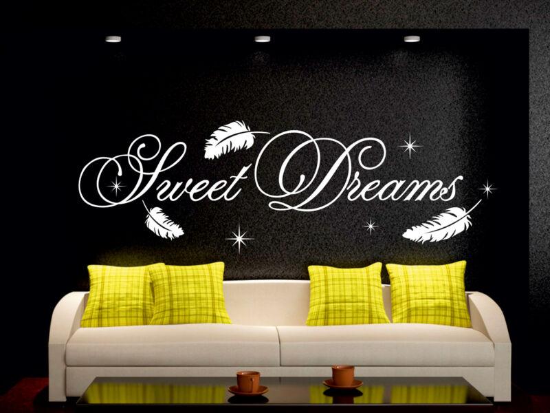Sweet Dreams idézetek falmatrica