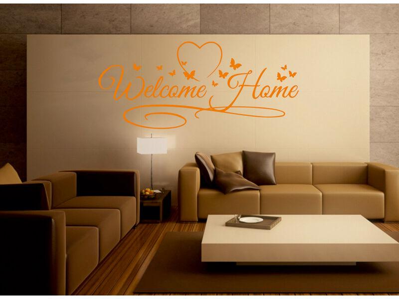 Welcome Home idézetek falmatrica