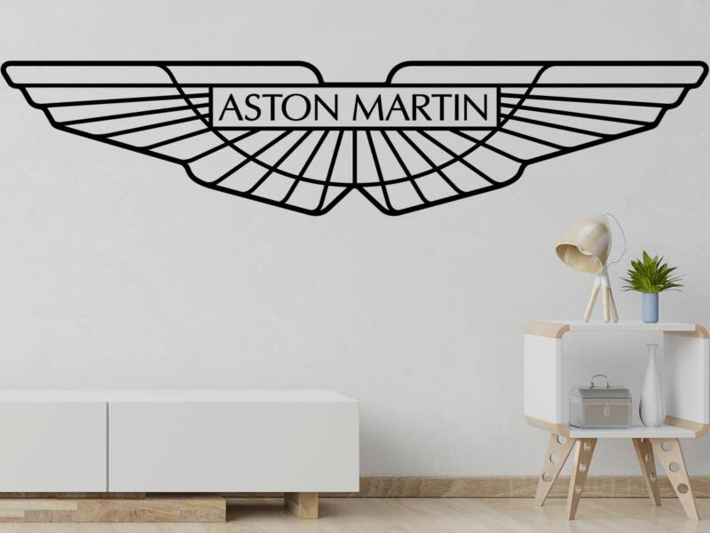 Aston Martin logo falmatrica