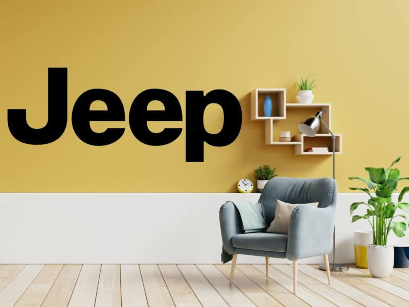 Jeep logo falmatrica