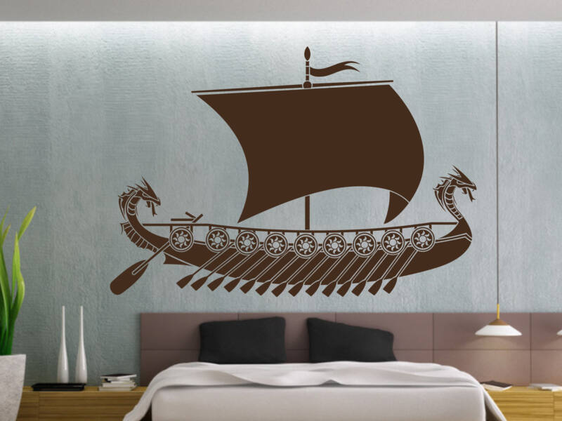 Viking hajó falmatrica