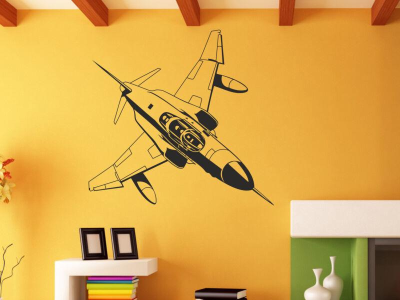 Katonai repülőgép falmatrica 01