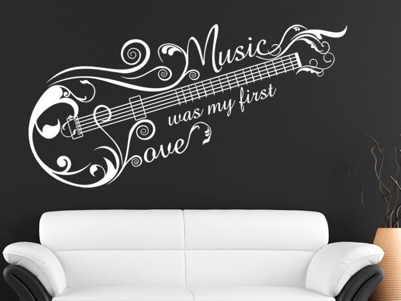 Zene a szerelmem falmatrica