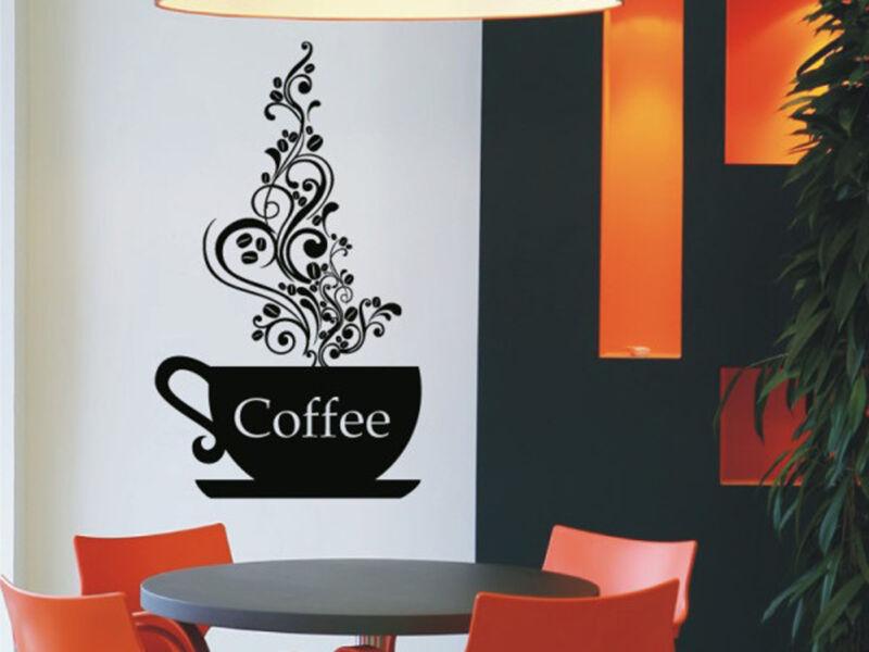 Kávézói hangulat  falmatrica 02