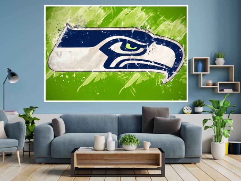 Seattle Seahawks 1 - Öntapadós poszter
