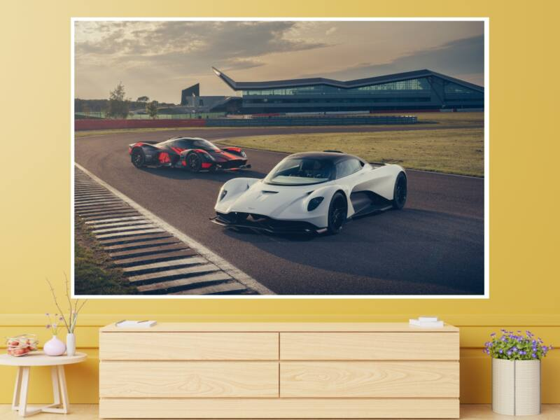 Aston Martin - Öntapadós poszter