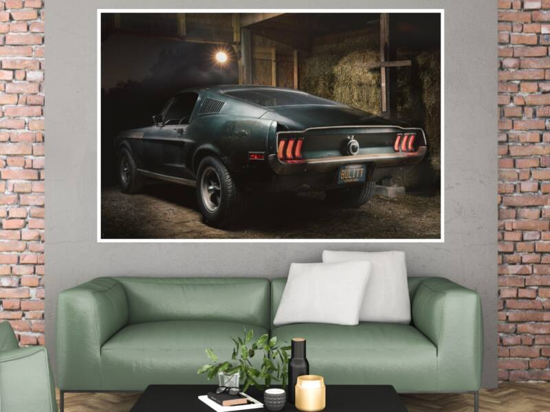 Ford Mustang GT Fastback 1968 - Öntapadós poszter