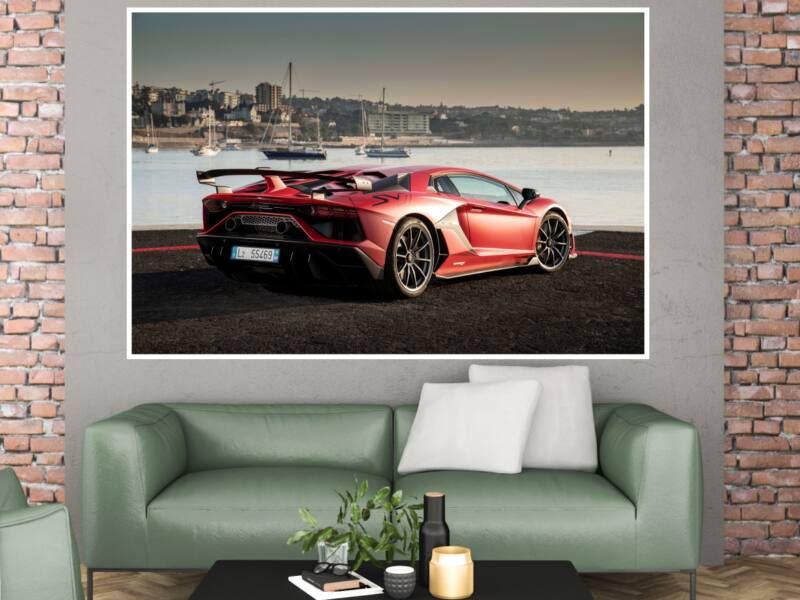 Lamborghini Aventador SVJ - Öntapadós poszter