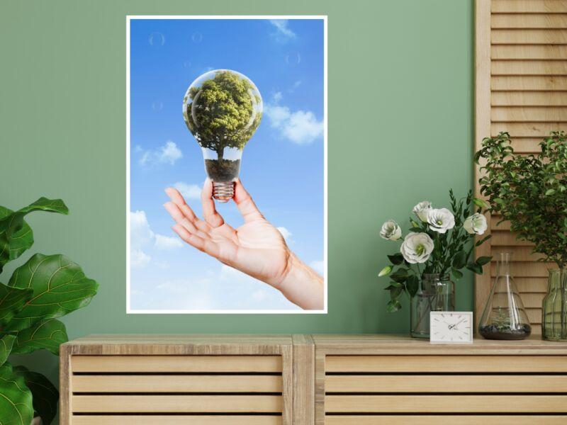 Megújuló energia - Öntapadós poszter