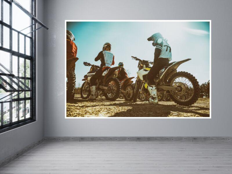 Motocross 5 - Öntapadós poszter