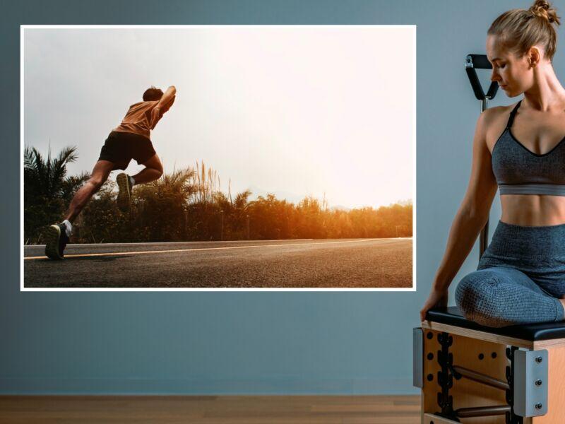 Fitness 10 - Öntapadós poszter