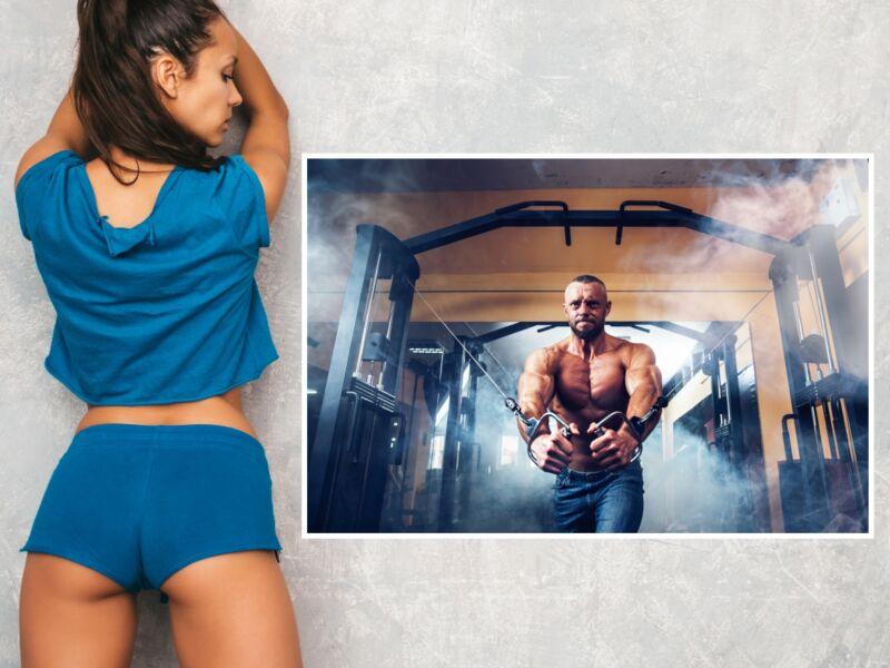 Fitness 15 - Öntapadós poszter