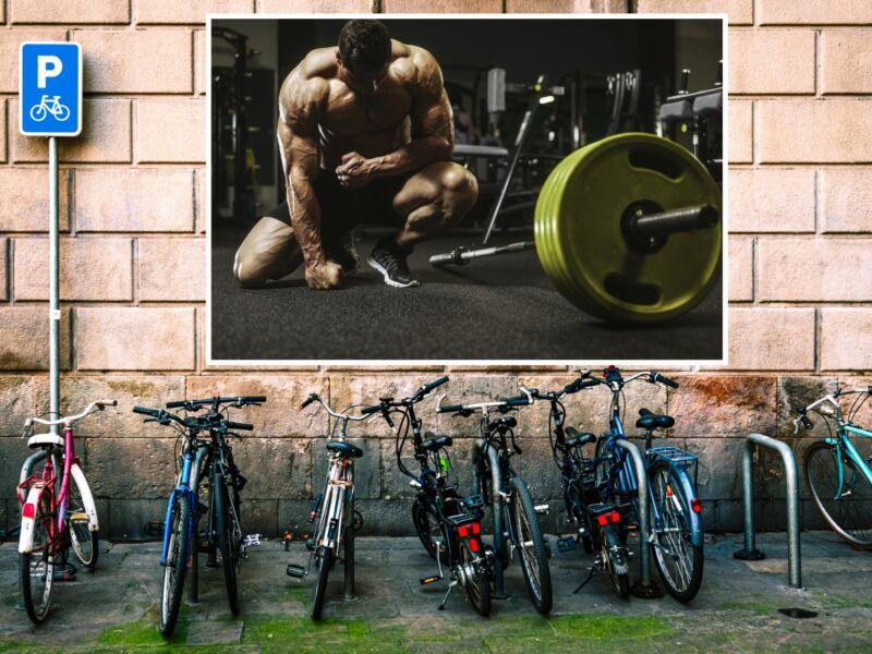 Fitness 17 - Öntapadós poszter