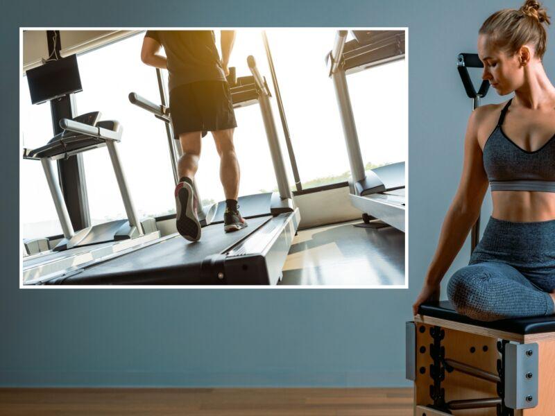 Fitness 28 - Öntapadós poszter
