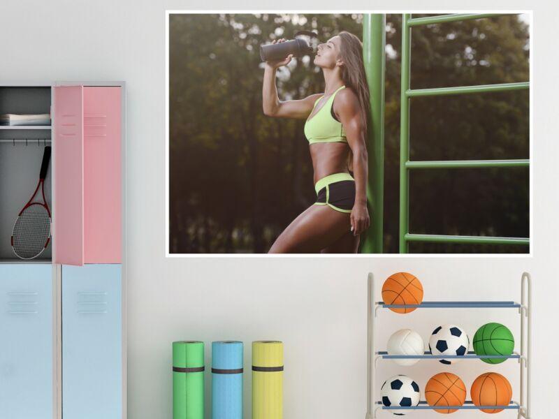 Fitness 29 - Öntapadós poszter