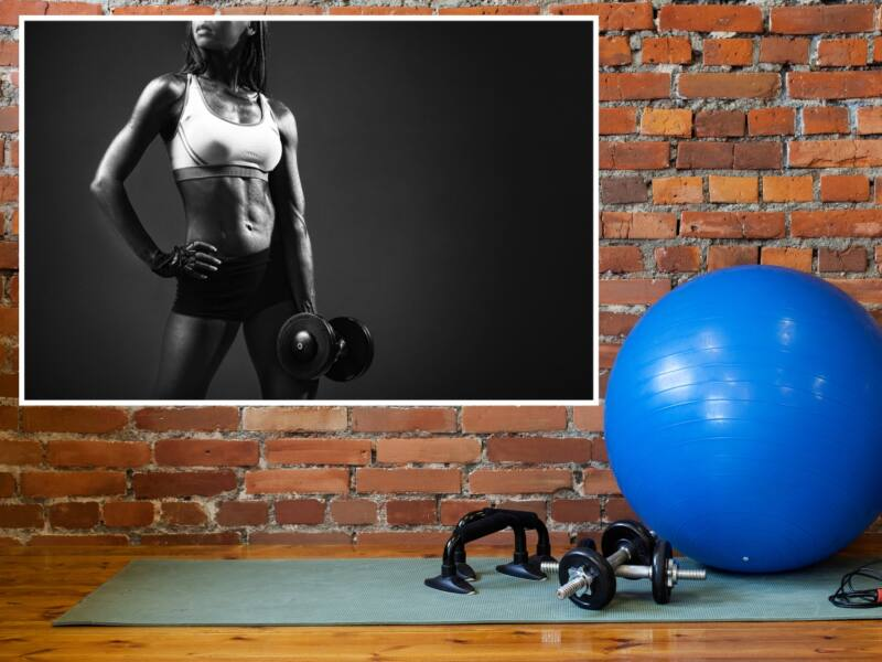 Fitness 32 - Öntapadós poszter