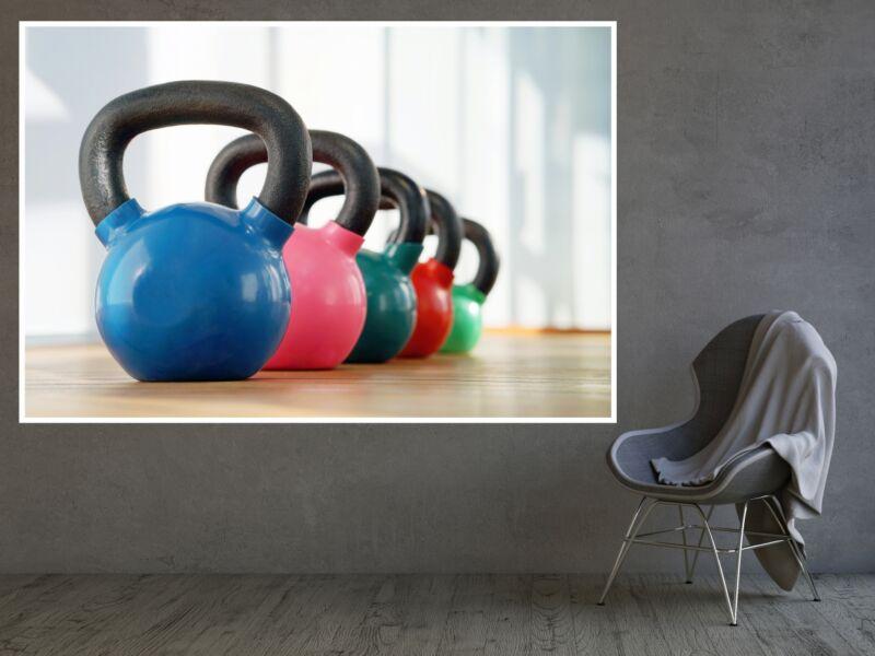 Fitness 38 - Öntapadós poszter