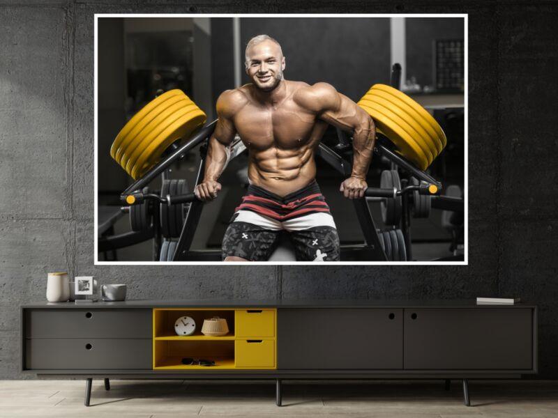 Fitness 41 - Öntapadós poszter